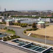 西谷浄水場の風景