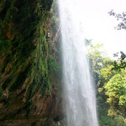Nice waterfall close to Palenque.