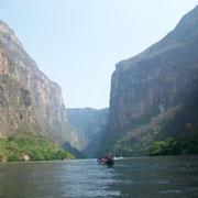 Cañon del Sumidero, Chiapas.