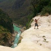 Tamul waterfall.