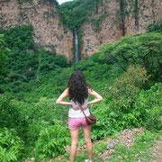 Waterfall in Acatic, Jalisco.