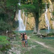 Minas Viejas waterfall