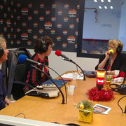 On air (Photo de VFM radio)