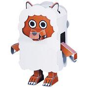 PMF-011  ウルフィ ひつじ 通常版 名古屋テレビ【メ~テレ】HP  http://www.nagoyatv.com/ ウルフィの組み立て説明動画をYouTubeにて公開しています。  http://youtu.be/8cR1RQJt6nE