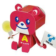 PMF-019  東邦ガス 電力販売キャラクター  アンベア 東邦ガスHP http://www.tohogas.co.jp/