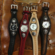 Cowhide Leather Watch Band
