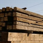 Kantholz gehackt - Paket
