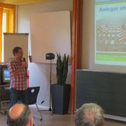 Unser Referent Hr. Garbotz von sharewise.com.
