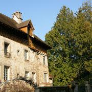La Maison dite du Maître Tanneur et son grenier à claire-voie où séchaient les peaux - Rue Farges - Eymoutiers