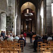 Visite guidée test de Saint-Léonard-de-Noblat avec traductrice en Langue Française des Signes (LSF) - 20 mai 2015
