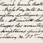 Délibération de la mairie d'Eymoutiers concernant la souscription publique - 21 novembre 1915 (Archives municipales d'Eymoutiers).