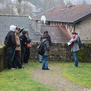 Formation des étudiants de la Licence Pro Valorisation du Patrimoine de l'Université de Limoges - 2013 - Photo Sébastien MEESTER