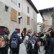 Formation des futurs architectes du patrimoine de l'Ecole de Chaillot à l'histoire de Saint-Léonard-de-Noblat - 2013