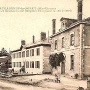 L'ancien hôpital militaire de Châteauneuf-la-Forêt - Collection Jean RIBOULET