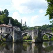 Pont médiéval - Pont-de-Noblat (Saint-Léonard-de-Noblat)