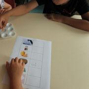 Atelier photo : test des PH pour comprendre comment réagit le papier photo