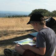 Eté des 6-12 ans : le paysage au Mont Gargan - Réservation obligatoire 05 55 69 57 60 – Jeudi 16 juillet à 15h – gratuit