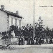 commune de La Geneytouse (il y avait alors une école dans le bourg et une dans le village des Allois)
