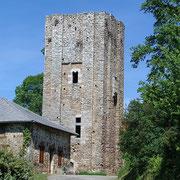 Tour d'Echizadour (XIIe-XIIIe siècles) - Saint-Méard