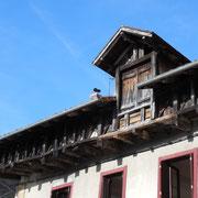 Autre exemple de grenier à claire-voie - Avenue Jules Fraisseix - Eymoutiers