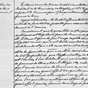Délibération de la mairie d'Eymoutiers concernant la réquisition de pommes de terre pour l'armée - 11 novembre 1917 (Archives municipales d'Eymoutiers).
