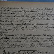 Pétition des habitants de Saint-Léonard-de-Noblat (2/2) concernant la cherté du bois lors de la séance du Conseil municipal du 5 août 1917 (Archives municipales de Saint-Léonard-de-Noblat).