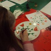 Atelier porcelaine : peinture sur porcelaine (expression libre)