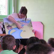 Atelier moulins du Pays d'art et d'histoire : présentation de la rivière (vocabulaire, activités)
