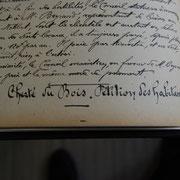 Pétition des habitants de Saint-Léonard-de-Noblat (1/2) concernant la cherté du bois lors de la séance du Conseil municipal du 5 août 1917 (Archives municipales de Saint-Léonard-de-Noblat).