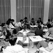 1980年11月16日北海道アカデミー青少年センターで、いちご会の研修会が行われた。