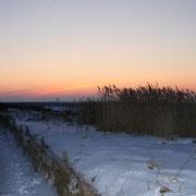 Der Winter hat in Cuxhaven Duhnen seine Reize
