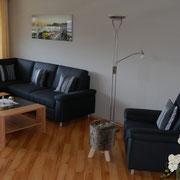 Modern und komfortable ist die Ferienwohnung Nr.50 ausgestattet