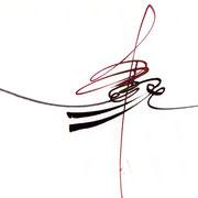 Caligrafismo Naso González Serie 51-4