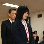 戸田翔陽高校 濵名美月さん(剣道女子団体戦優勝)
