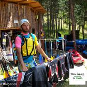 Unsere erfahrenen Kanu-Guides begleiten Dich bei Kanufahren in Bulgarien