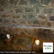 Das Thermalbad in Pirin-Gebirge in Bulgarien stammt aus Zeiten des Osmanischen Reichs und wurde im Laufe der Jahren kaum verändert.