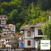Dorf in Rodopite-Gebirge, Bulgarien
