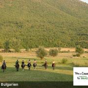 Reiten in Bulgarien - das milde Klima, die sanften Hügel bieten perfekte Möglichkeiten in Buglarien für Reiter