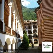 Rila-Kloster in Bulgarien an einem Sommernachmittag