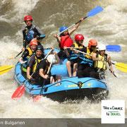 Spritziges Wildwasser, Action, hautnahe Natur - das ist Rafting in Bulgarien