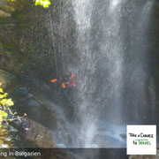 Bei Canyoning in Bulgarien erlebst Du die Natur hautnah