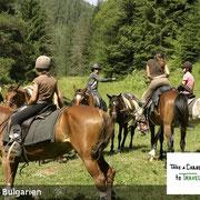 Reiten in Bulgarien - selbst die Urbulgaren waren ein Reitervolk. Auch heute ist Reiten in Bulgarien ein Geheimtipp.
