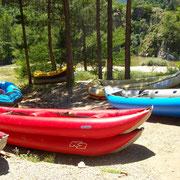 Kanu-fahren in Bulgarien