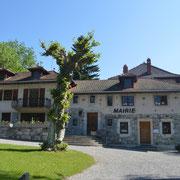 La mairie d'Habère-Lullin