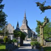 L'église d'Habère-Lullin