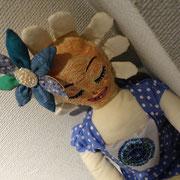 島 真弓「水玉ひと」人形