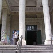 大倉山記念館正面階段