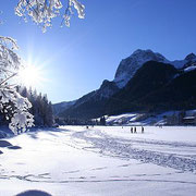 Hintersee im Winter