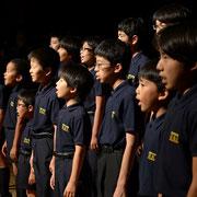 2013年 友情出演の広島少年合唱隊。