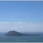 Blick auf Bardsey Island - Insel der 20.000 Heiligen